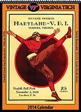 virginia tech vintage posters | Vintage Virginia Tech Hokies: Classic Souvenir Football Game Program ...