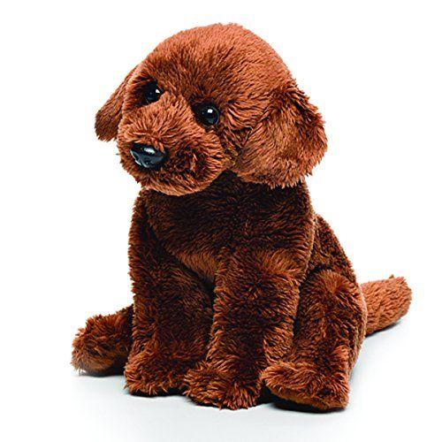 Demdaco Baby Plush Beanbag Chocolate Labrador