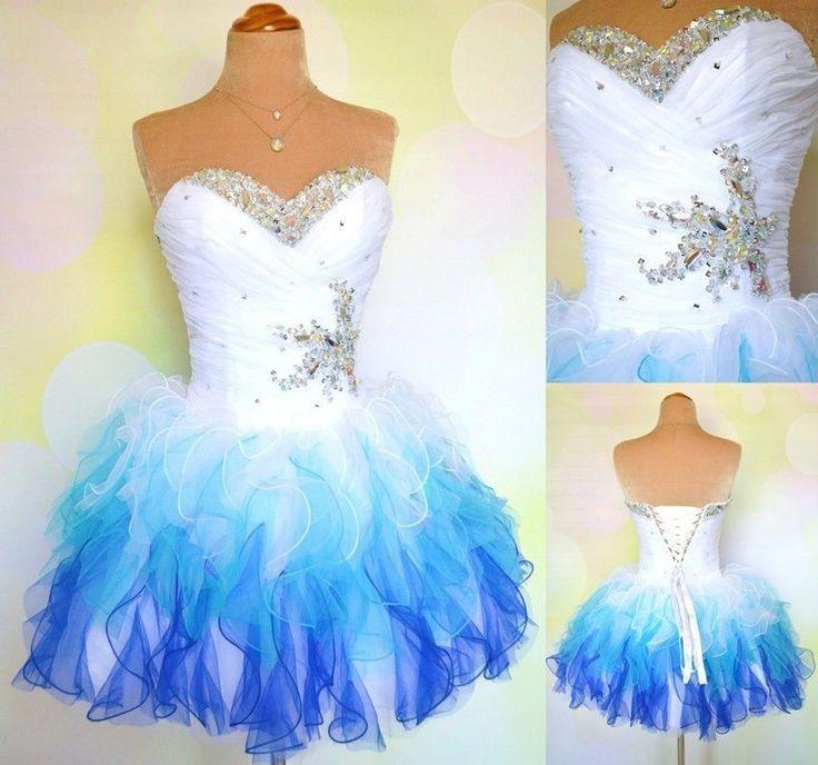 Bg674 Sweetheart Prom Dress,Organza Prom Dress,Ruffle Prom Dresses,Short