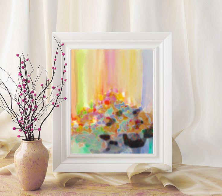 #Abstract #Painting #Print #Printable #Art #Rainbow #WallArt #AbstractArt #Rainbow #Pastel #AbstractPrint #PrintableWallArt #INSTANTDOWNLOAD #Printable #Watercolor #AbstractPainting #Nursery #Decor #A4 #Print
