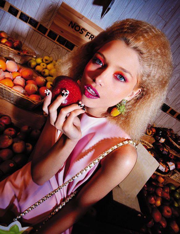 Hana Jirickova BY Steve Hiett for Vogue Italia May 2013