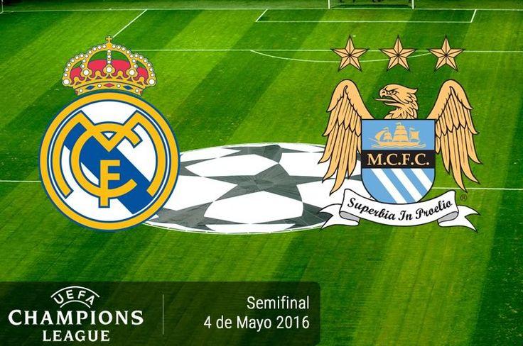 Real Madrid vs Manchester City, Semifinal ¡En vivo por internet! | Champions League 2016 - https://webadictos.com/2016/05/03/real-madrid-vs-manchester-city-champions-2016/?utm_source=PN&utm_medium=Pinterest&utm_campaign=PN%2Bposts