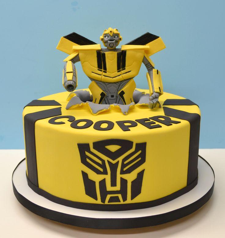 how to make a transformer cake