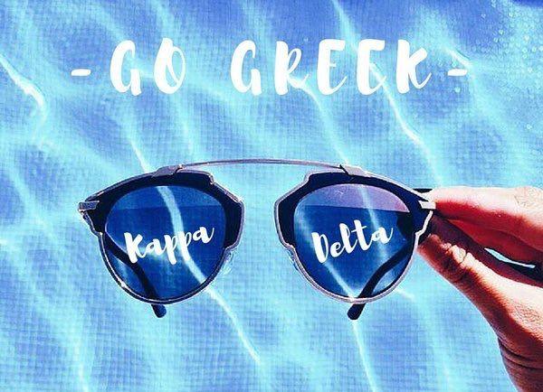 Go Greek! Go KD!