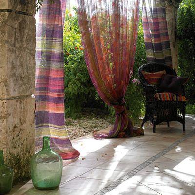 http://weheartit.com/entry/1955443  #curtains #drapes #porch #patio #outdoor #decorating #decor #design