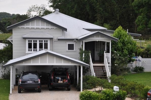 queenslander carport facade - Google Search