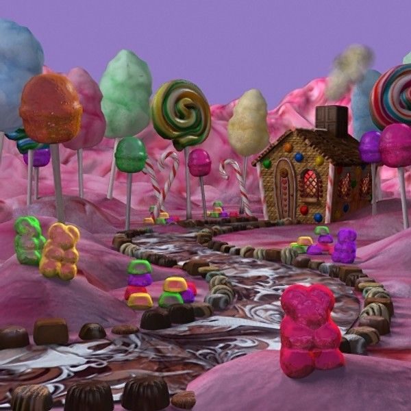 Candyland... I can totally reproduce this full size ;) lg
