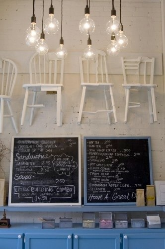 Little Cafe Interior