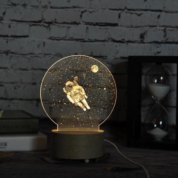 Pin By Deco Led On Deco Led 3d Led Night Light Led Night Light Moon Decor