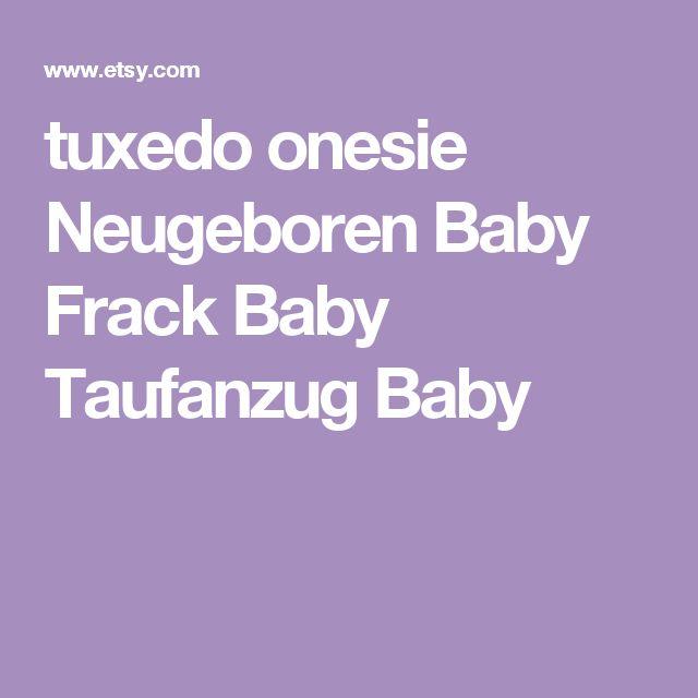tuxedo onesie Neugeboren Baby Frack Baby Taufanzug Baby