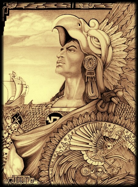 Aztec pride mi cultura mexicana pinterest aztec - Brown pride drawings ...