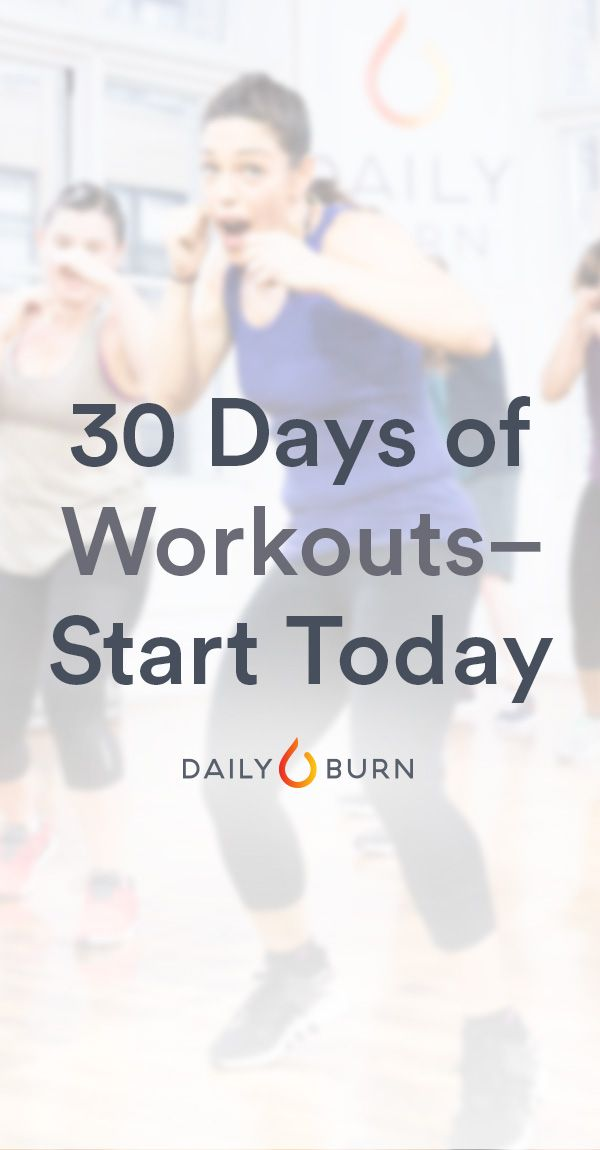 Stream a new, 30-minute workout every day with Daily Burn 365. Our beginner-friendly, total-body workouts are taught by experienced trainers. Watch live at 9AM ET, or on-demand for 24 hours. Start your 30-day free trial today.