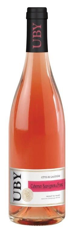 Cabernet Sauvignon et franc / domaine d'uby   60% CABERNET SAUVIGNON 40% CABERNET FRANC   Superbe nez de poivron et de framboise, typique du Cabernet.  La bouche est vive et fruitée.  A l'apéritif, sur des grillades ou alors sur une tartelette aux fraises.   Servir frais à 12°C.  A consommer de préférence dans l'année.