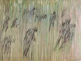 """Umberto Boccioni, """"Stati d'animo: Quelli che restano"""", 1911, Museo del Novecento, Milano"""