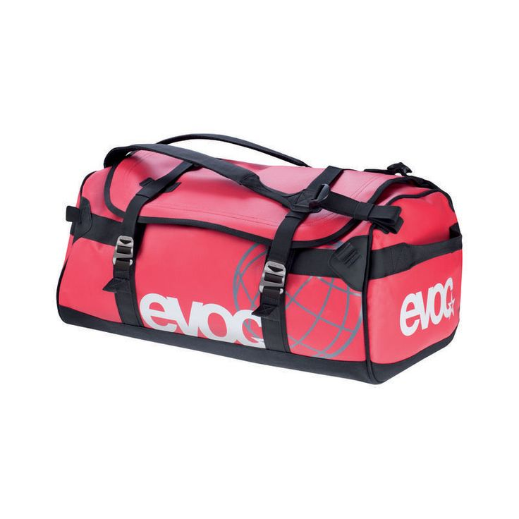 2012 Evoc Duffle Bag - Red - - by Evoc - 2012 Evoc Duffle Bag - Red If You Want to Visit the Best Freeride Spots in the World
