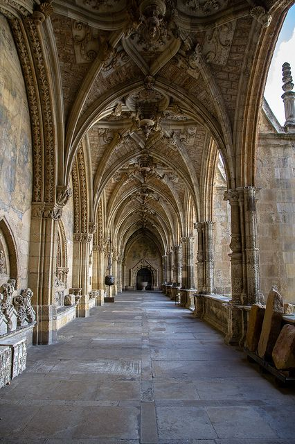 Catedral de León Spain. Once again, I love Spanish architecture!