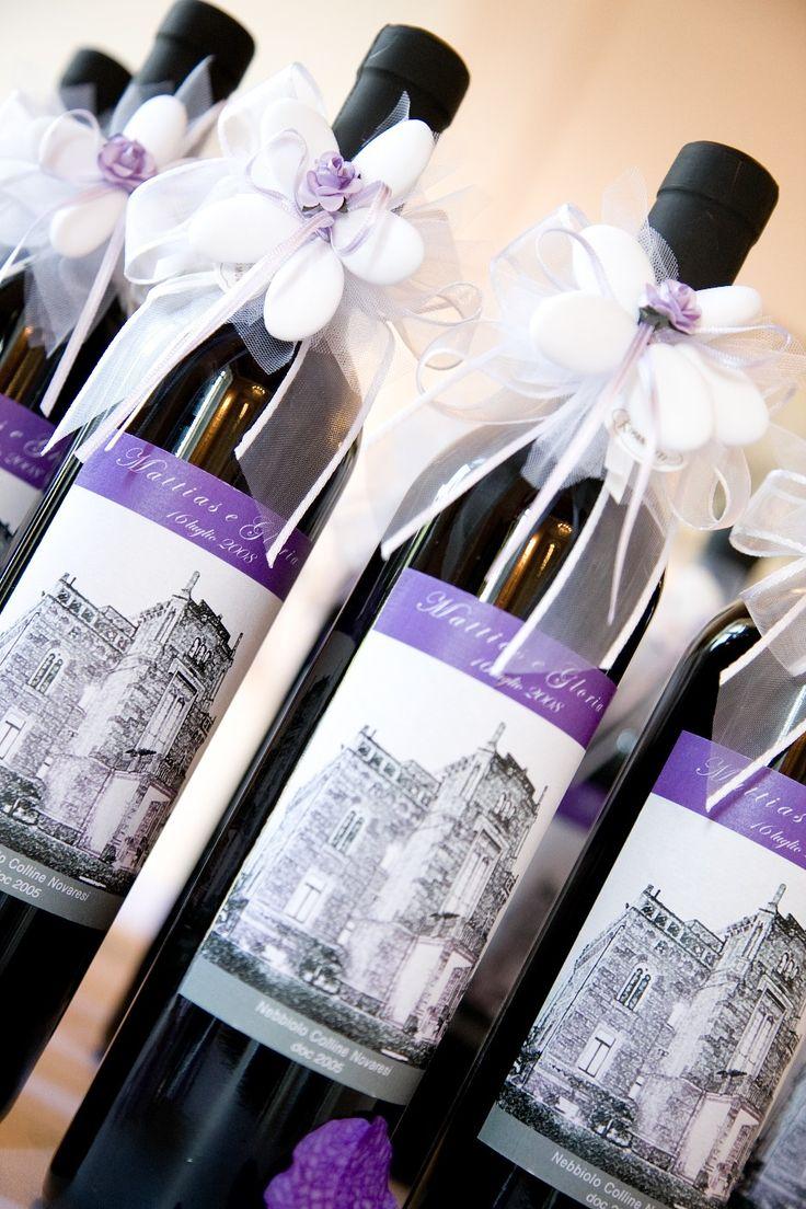 Il nostro vino, la vostra etichetta: la bomboniera più chic!