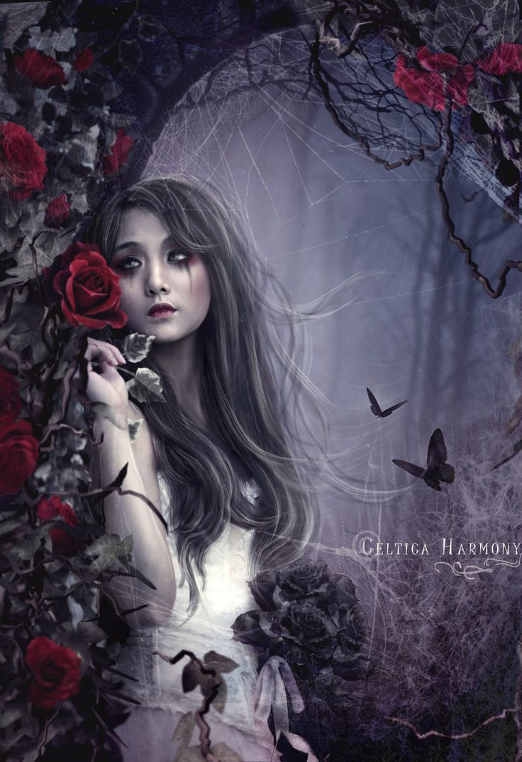 "gothic fantasy art -It is fortunate to be favored with praise and popularity. You don't have to be rich to be rich in spirit. ""I know your troubles, I know that you are poor but really you are Rich"" Rev 3"