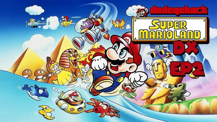 Submarine Mario | Super Mario Land 1 DX - Ep 01