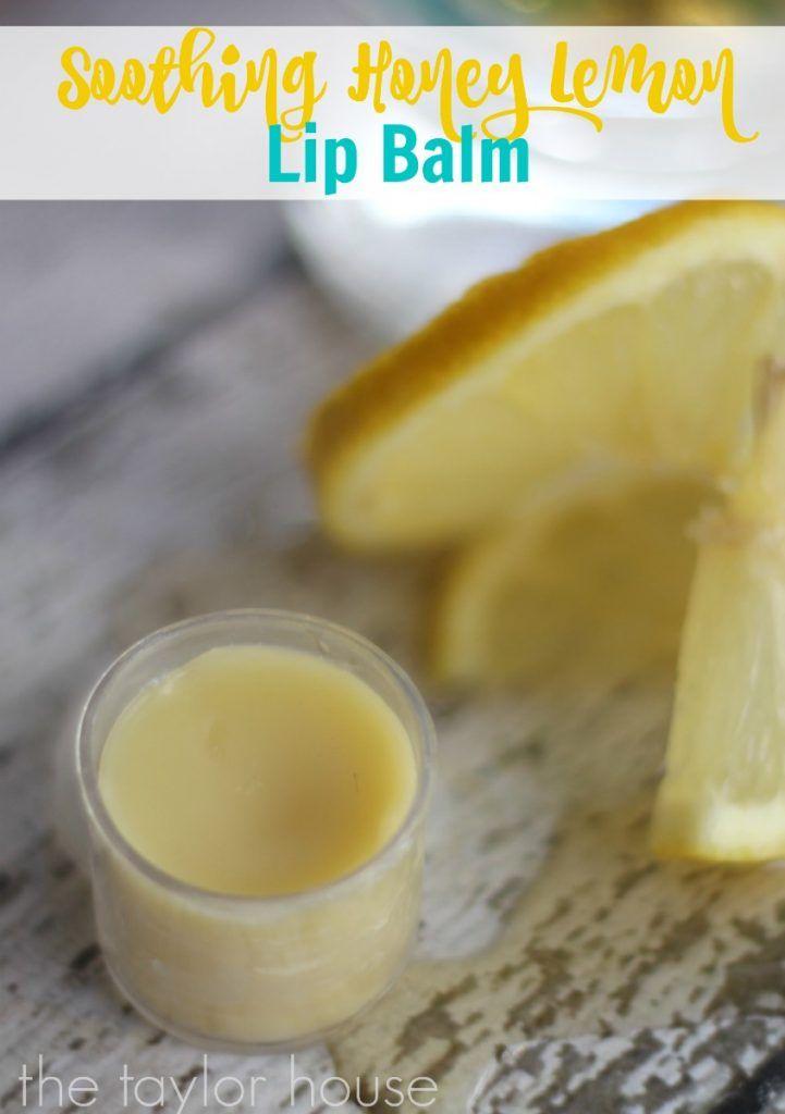 Honey Lemon Homemade Lip Balm. Find your CPTG essential oils and more at www.mydoterra.com/dianesulzer