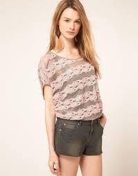 Resultado de imagem para blusas elegantes 2014 de encaje