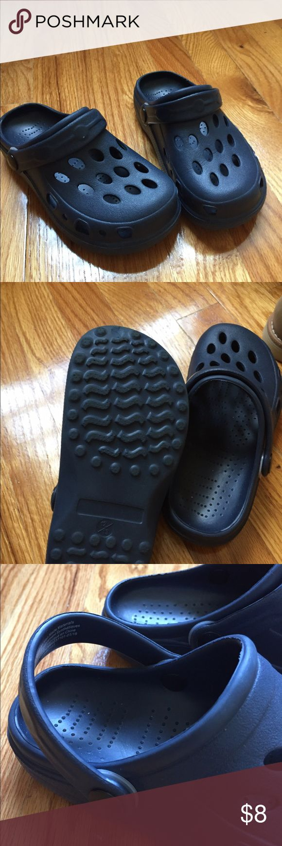 Kids Water Shoes Navy Blue kids imitation crocs water shoes. Brand new never been worn. Shoes Water Shoes