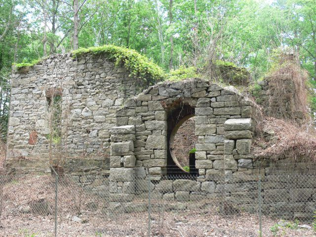 Midlothian Coal Shaft Ruins - old Coal Mines at the Midlothian Mines Park. The…