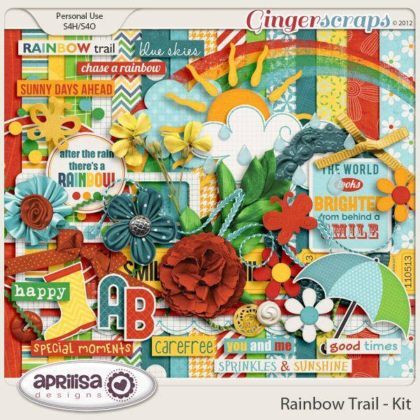 Rainbow Trail - Kit by Aprilisa Designs.