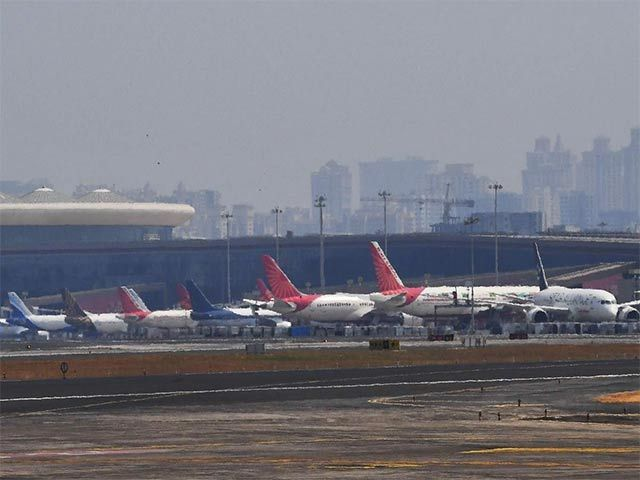 People In Containment Zone Not Allowed Air Travel As Domestic Flight Services Resume On May 25 With One Third Of News He In 2020 Air Travel Domestic Flights Travel