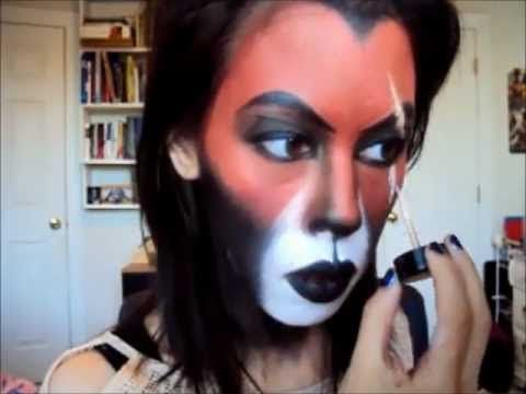 Halloween: Scar Costume Makeup (Lion King)