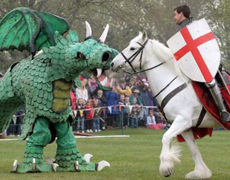 When is St George's Day 2017? Who was St George and how do the English celebrate? - https://newsexplored.co.uk/when-is-st-georges-day-2017-who-was-st-george-and-how-do-the-english-celebrate/