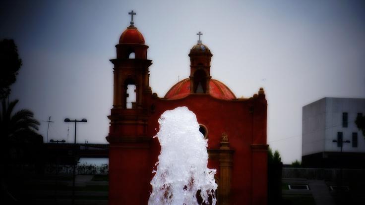 Capilla de la concepción fountain