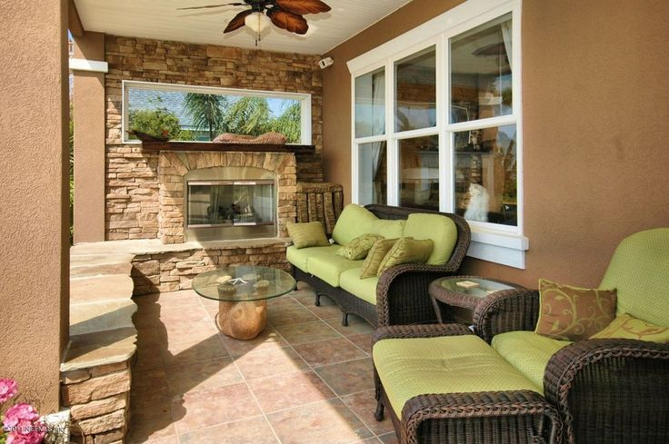 Transitional Patio with outdoor pizza oven, Forever Patio Winslow Wicker Sofa, exterior tile floors