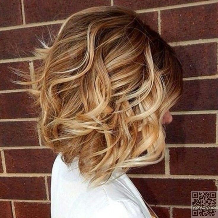 Image result for loose wavy curls medium hair