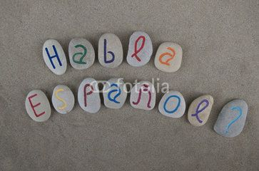 Habla espanol ? Stones composition
