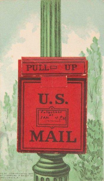 [LIVERMORE & KNIGHT] Une collection de cartes publicitaires américaines…