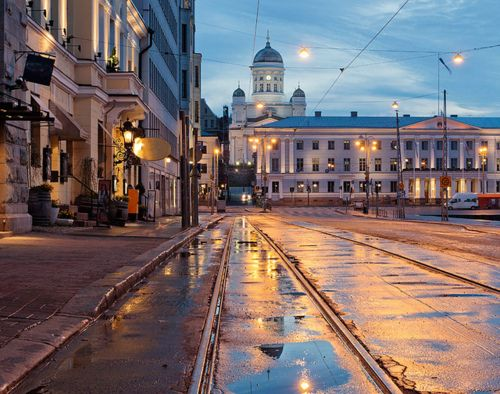 Helsinki after the rain by Spectacolor on Flickr.