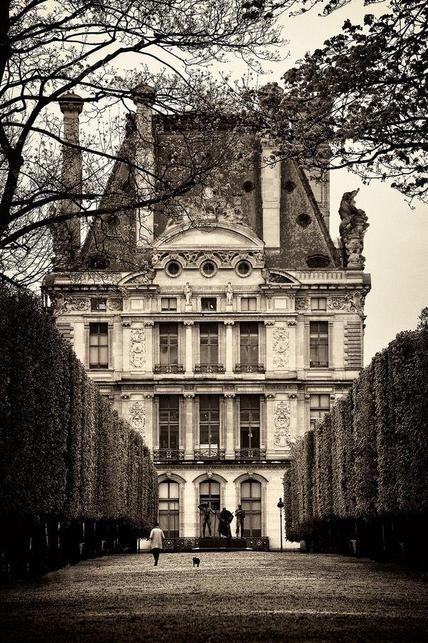 Tuileries Garden. Paris, France.