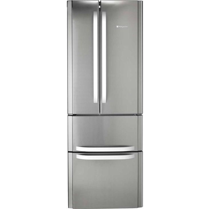 Hotpoint FFU4DX 60/40 Frost Free Fridge Freezer - Stainless Steel