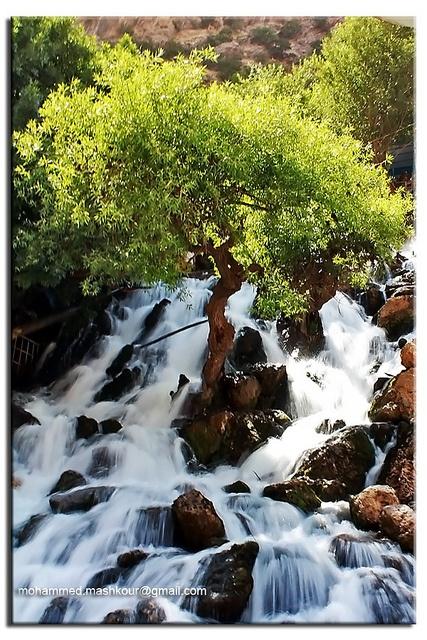 Bekhal Waterfall, Kurdistan