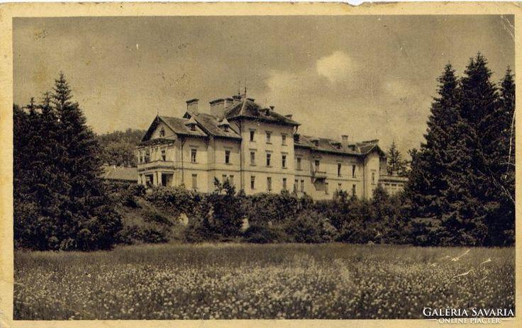 Parád Gyógyfürdő,  Kastély Szálló,  1939. jul. 1.