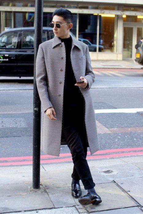 Streetstyle: Kim Sangwoo in London