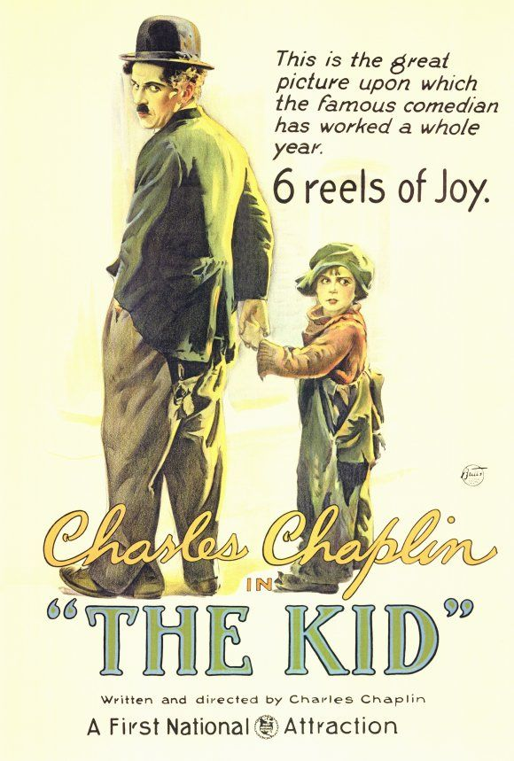 Movie Poster Shop Presents 100 Best Selling Movie Posters - The Kid (1921)