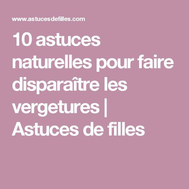 10 astuces naturelles pour faire disparaître les vergetures | Astuces de filles