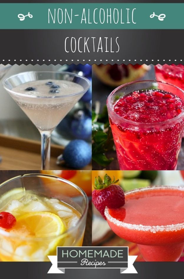 10 Delicious Non-Alcoholic Cocktails You Can Serve on New Years Eve | https://homemaderecipes.com/non-alcoholic-cocktails/