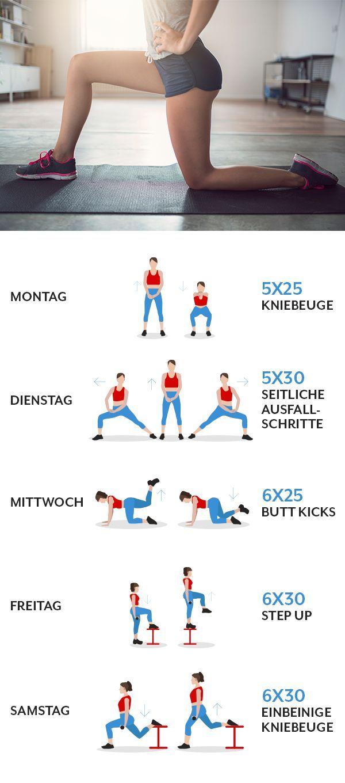 5 simple Übungen, mit denen du schneller Fett verbrennst