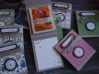 Kreativ am Deich : ...Teebeutel-Heftchen...die Anleitung