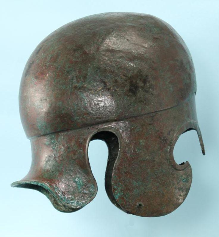 Greek Bronze Chalcidian Helmet