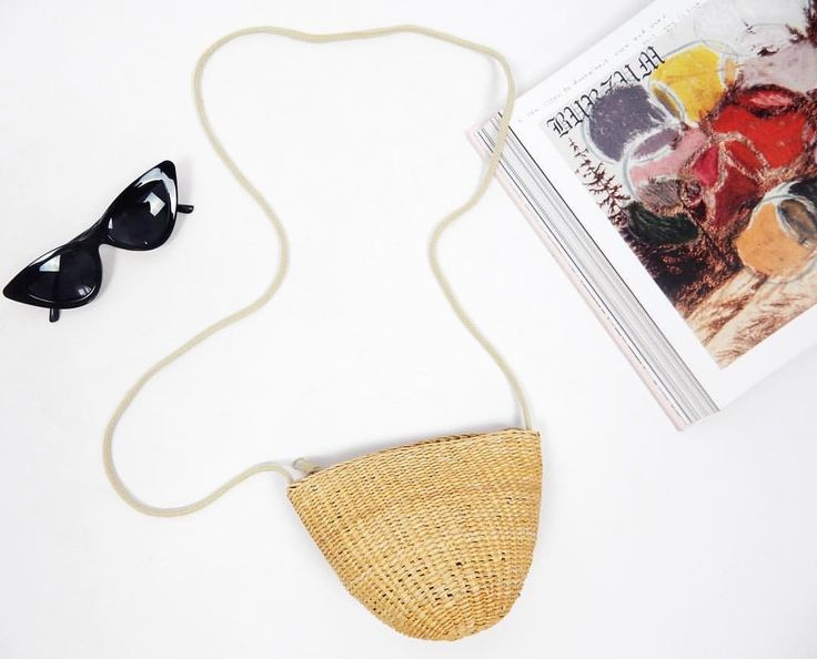 ❁ SUMMER DREAMS WOVEN BAG ❁ Perfect with the Wild At Heart Sunglasses! ❁ haliteclothing.com #HALITE