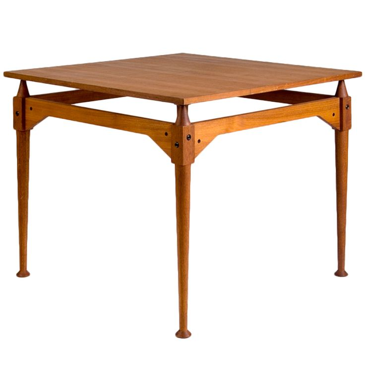 """A rare first edition of a iconic """"TL 3"""" table, designed by the Italian architect Franco Albini and executed by Succussori Carlo Poggi, wood studio located in Pavia (I). Description from 1stdibs.com. I searched for this on bing.com/images"""